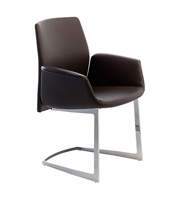 Downtown Conference Poltrona Frau Small Armchair
