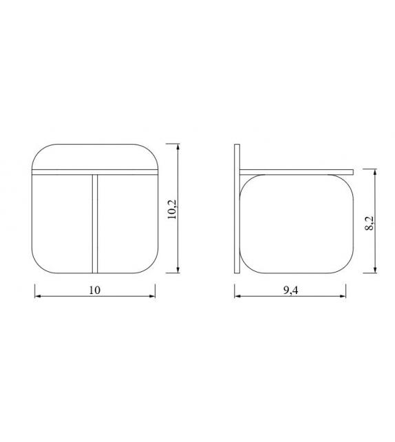 Sol Side Table ClassiCon Miniatur