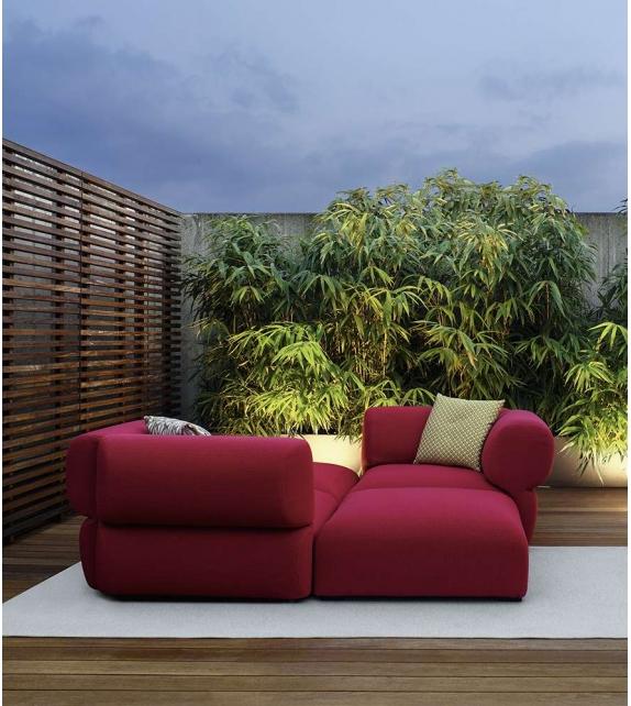 Sofa Butterfly B&B Italia Outdoor