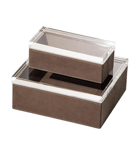 Gli Oggetti - Leather Case Poltrona Frau Scatola