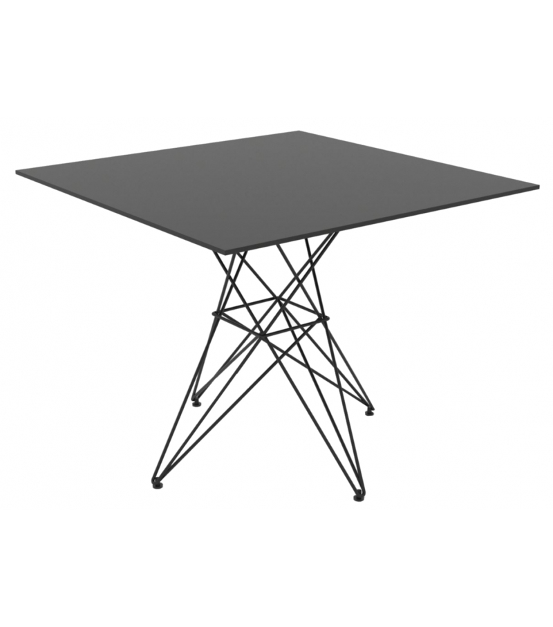 Faz Square Table Inox Vondom