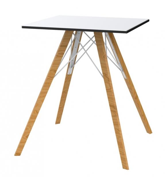 Faz Wood Vondom Tisch