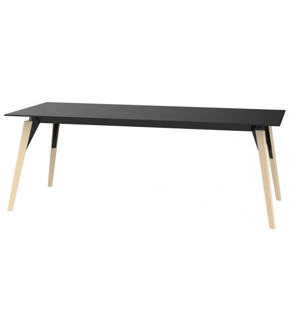 Faz Wood Vondom Table