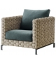 Ray Outdoor Natural B&B Italia Outdoor Fauteuil