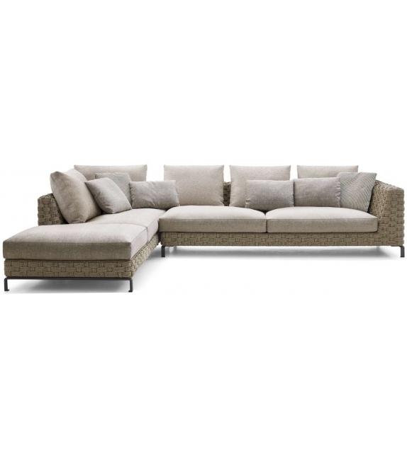 Ray Outdoor Natural B&B Italia Outdoor Modular Sofa