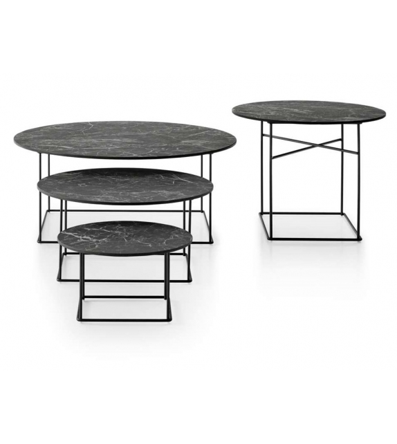 Fat-Fat B&B Italia Outdoor Side Table with Stoneware Top