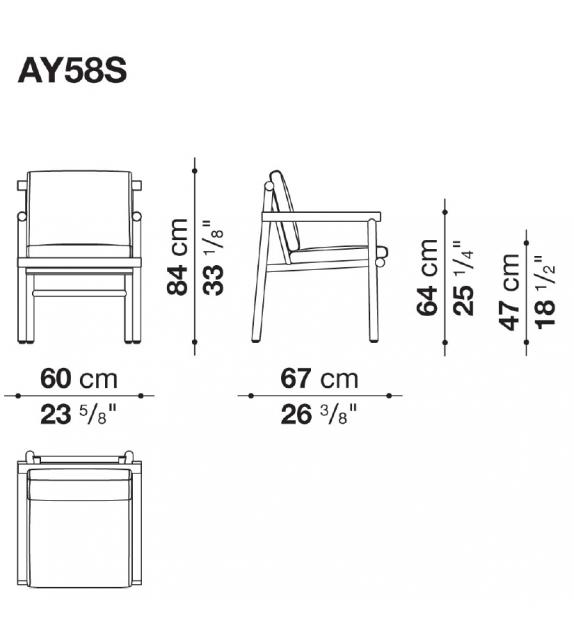 Ayana B&B Italia Outdoor Dining Chair