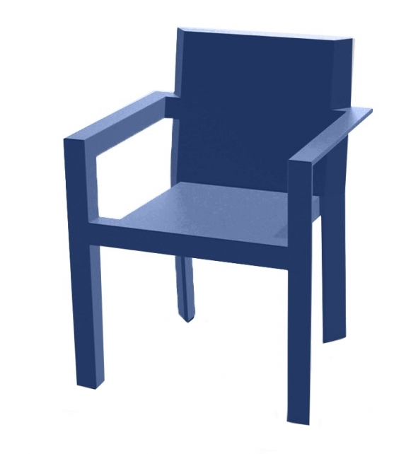 Frame Set of 2 Chairs With Armrests Vondom