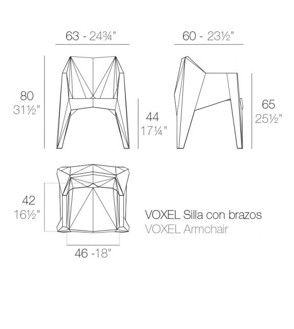 Voxel Vondom Armchair