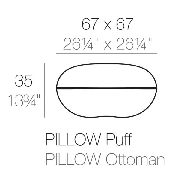Pillow Pouf Vondom
