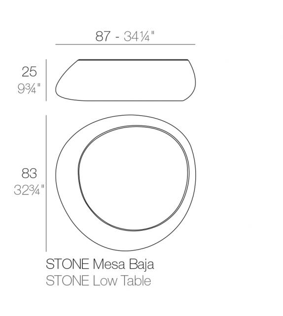 Stones Mesa Vondom
