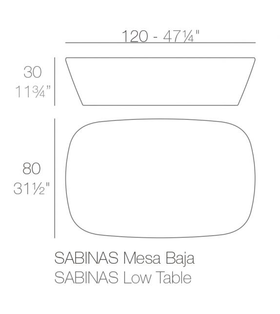 Sabinas Coffee Table Vondom