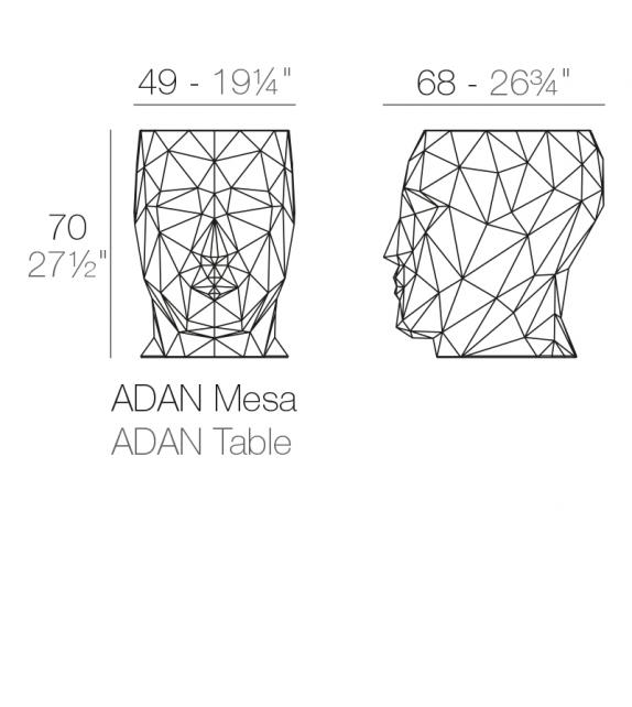 Adan Table Vondom