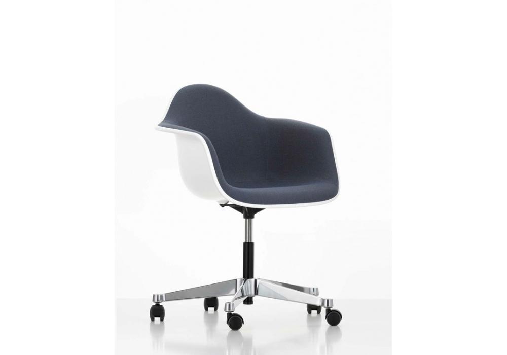 Eames plastic armchair pacc drehstuhl mit polsterung vitra milia