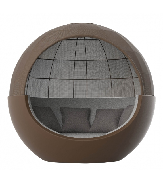 Moon Vondom Daybed With Fabric Parasol