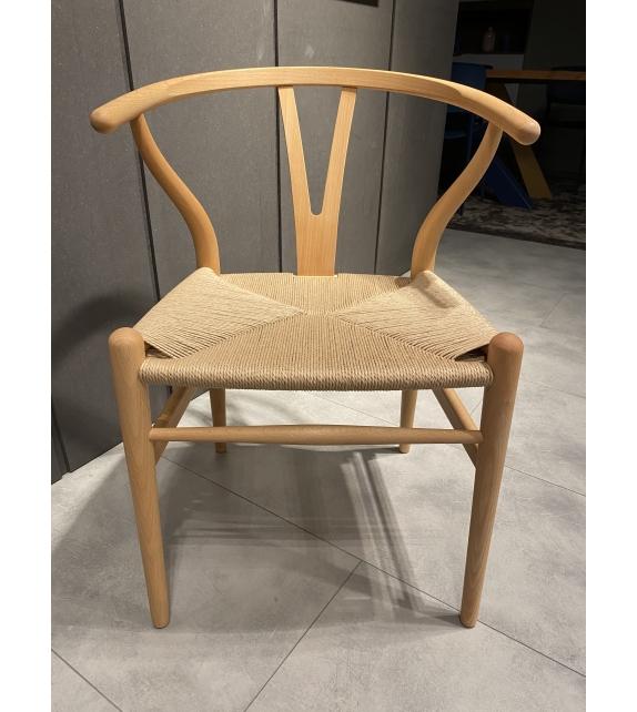 Ready for shipping - CH24 Wishbone Chair Carl Hansen & Søn