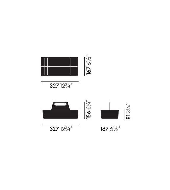 Versandfertig - Toolbox Vitra Ablagefach