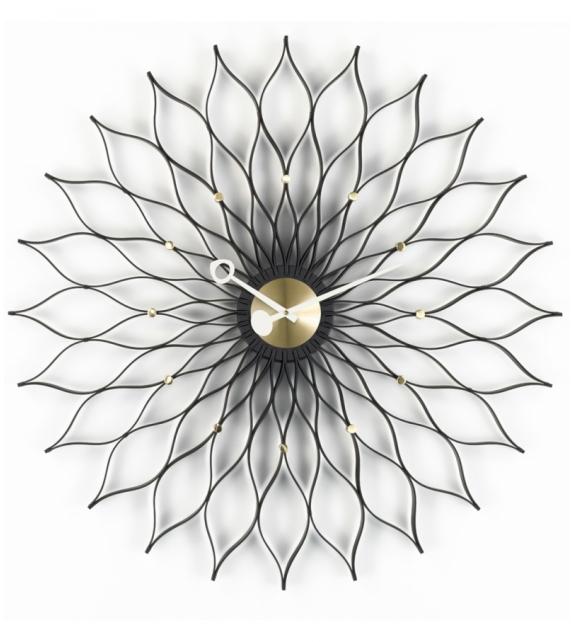 Ready for shipping - Sunflower Clock Vitra