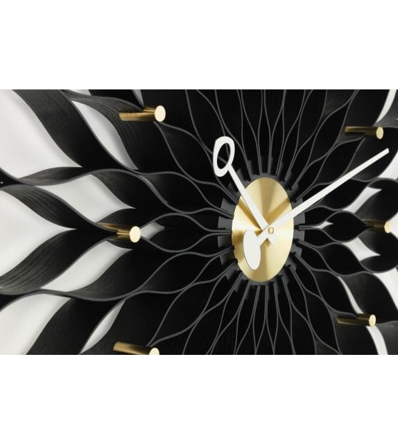Versandfertig - Sunflower Clock Vitra Uhr