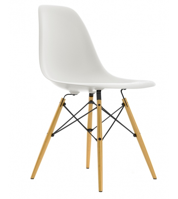Ready for shipping - Eames Plastic Side Chair DSW Vitra