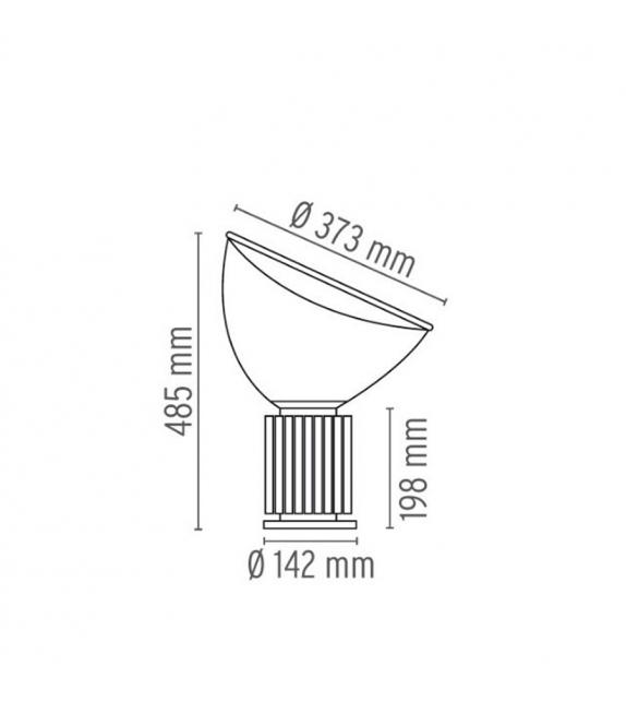Taccia Led Table Lamp Flos