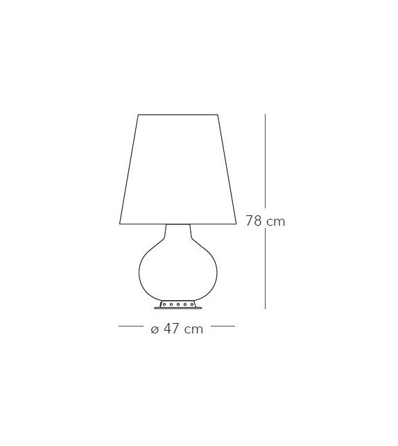 Ready for shipping - Fontana Fontana Arte Table Lamp
