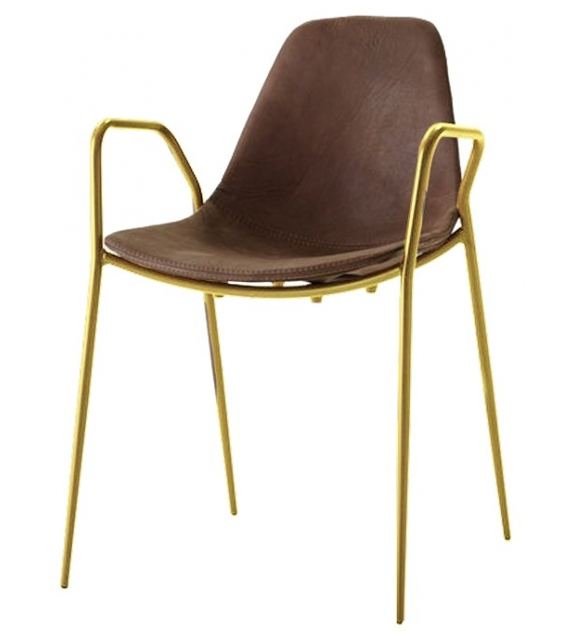 Mammamia Opinion Ciatti Upholstered Chair with Armrests