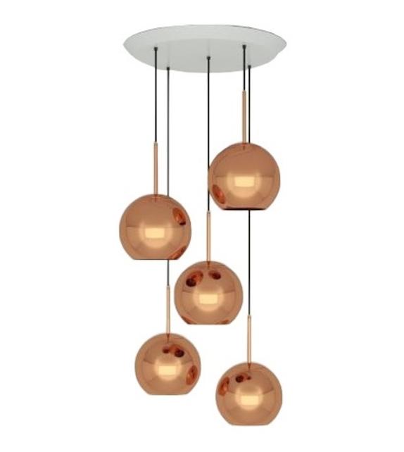 Copper 25 Tom Dixon Sistema de Suspensión