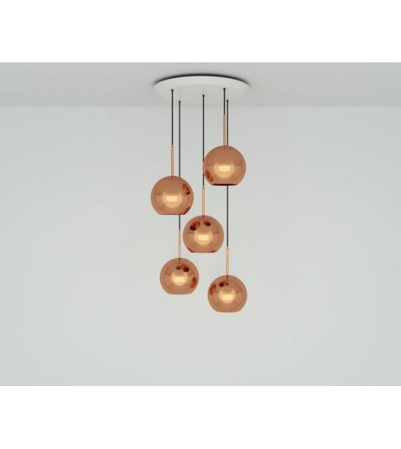 Copper 25 Tom Dixon Pendant System
