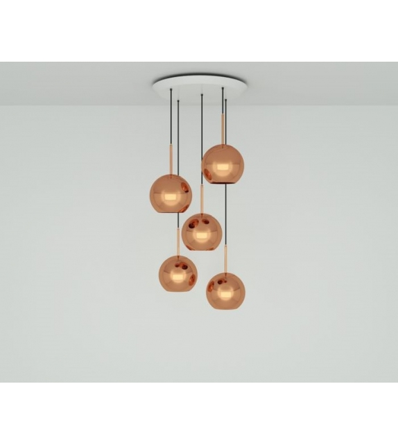Copper 25 Tom Dixon Sistema a Sospensione
