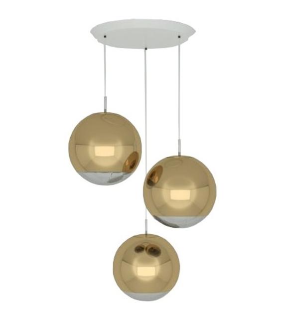 Mirror Ball 40 Tom Dixon Sistema de Suspensión