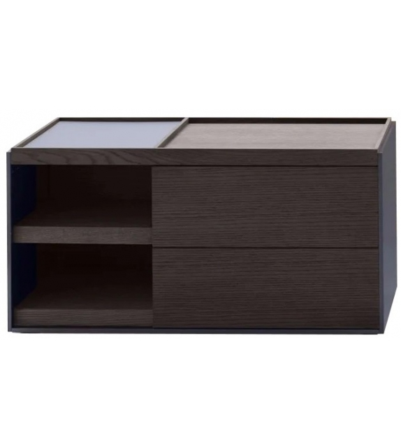 Surface B&B Italia Bedside Cabinet with Section
