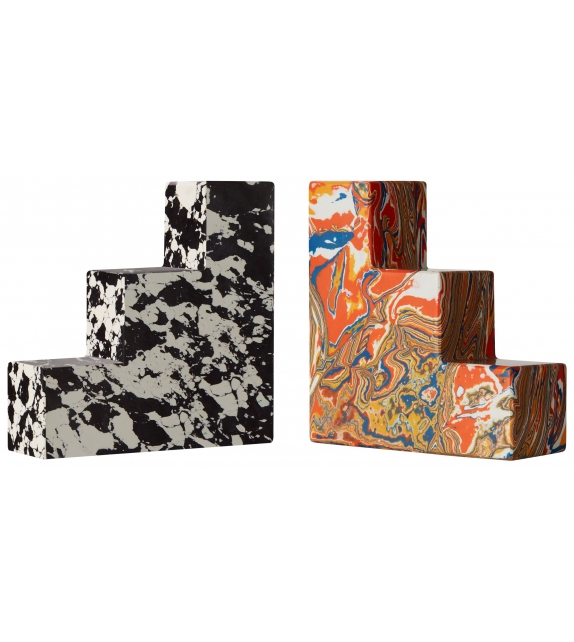 Swirl Tom Dixon Stepped Bookends