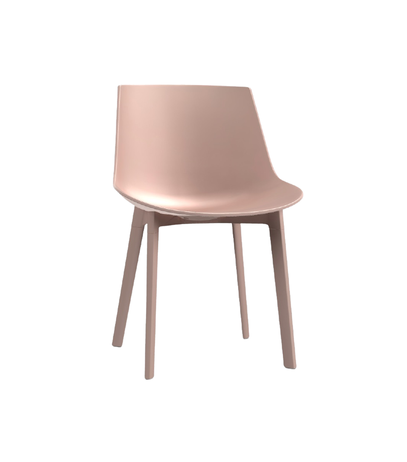 Flow Chair Chaise 4 Pieds Cross MDF Italia