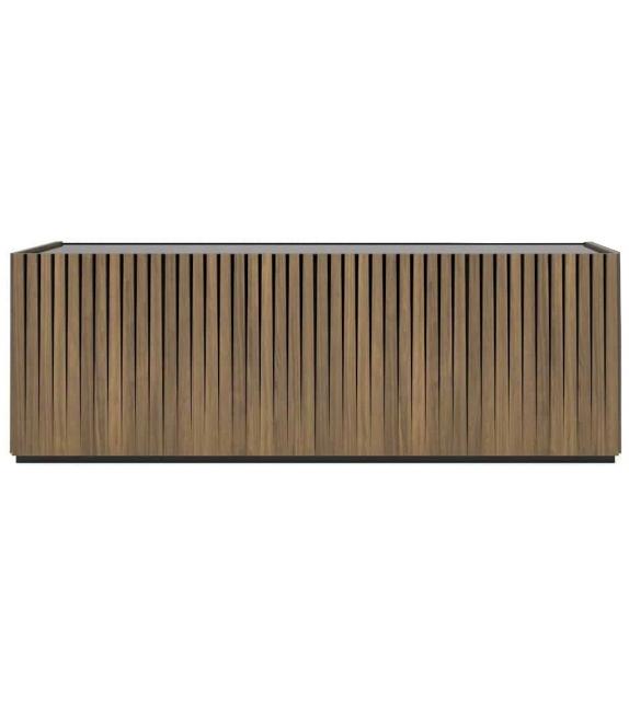 Dorotea Essenza Bassa Minotti Italia Sideboard / Container / TV Cabinet