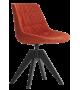 Flow Textile Stuhl mit Beinen VN Eiche MDF Italia