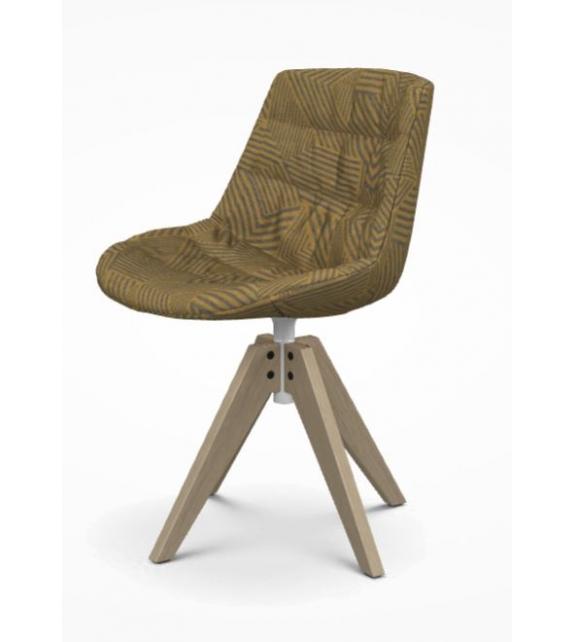 Flow Textile Chair VN Oak MDF Italia