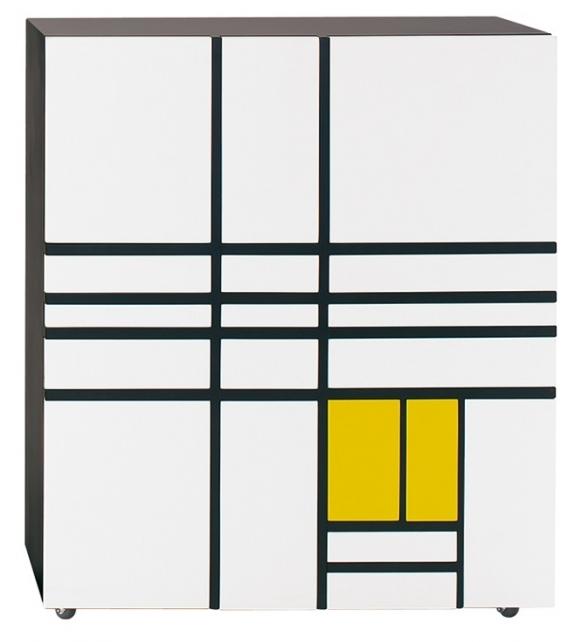 Homage to Mondrian 1 Cappellini Mobile Contenitore