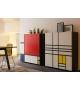 Homage to Mondrian 1 Armario Cappellini