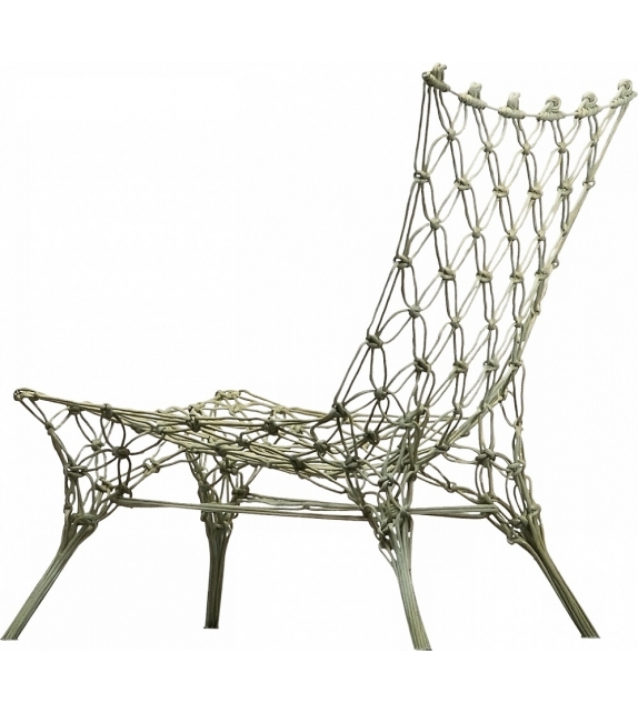 Knotted Chair Cappellini Armstuhl