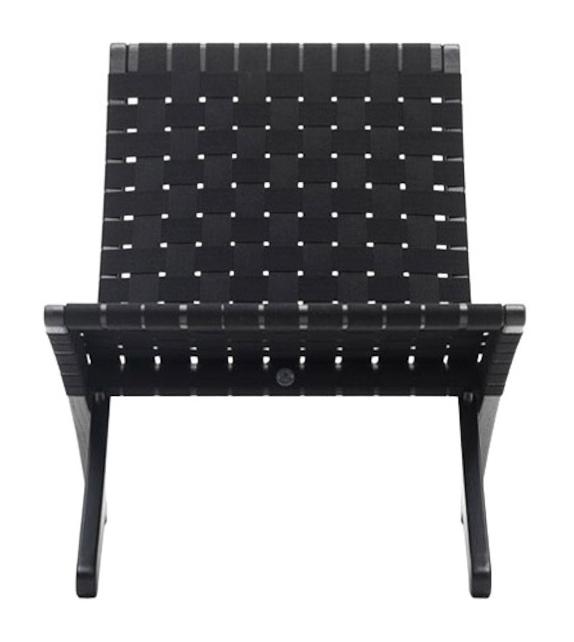 MG501 Cuba Black Chair Carl Hansen & Søn Sedia