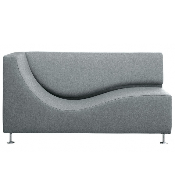 Three Sofa de Luxe Cappellini Chaise Longue with Armrest