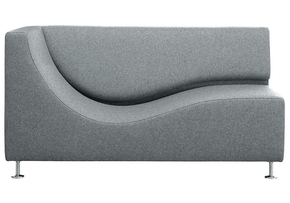 three sofa de luxe chaise longue mit armlehne cappellini milia shop. Black Bedroom Furniture Sets. Home Design Ideas