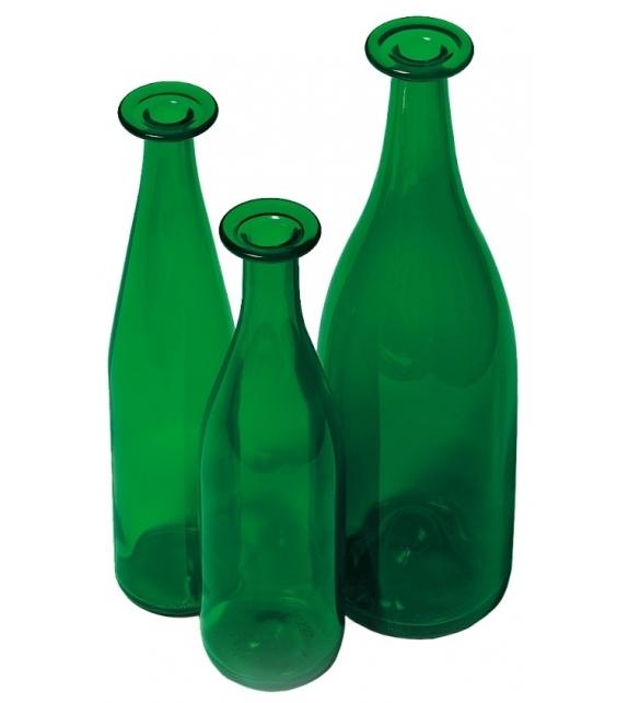 3 Green Bottles Set of three bottles Cappellini