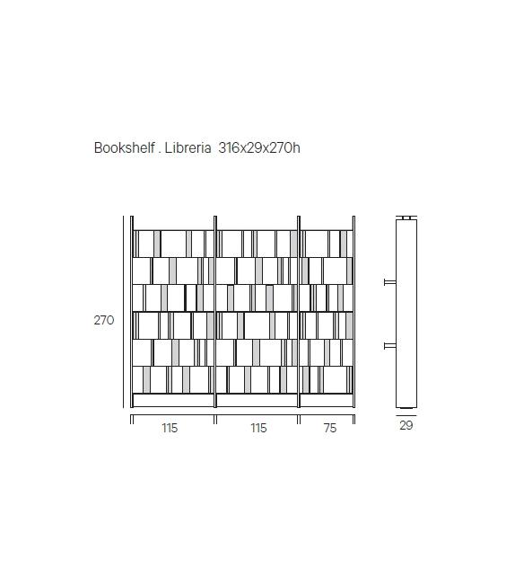 Bistrot Henge Bookshelf