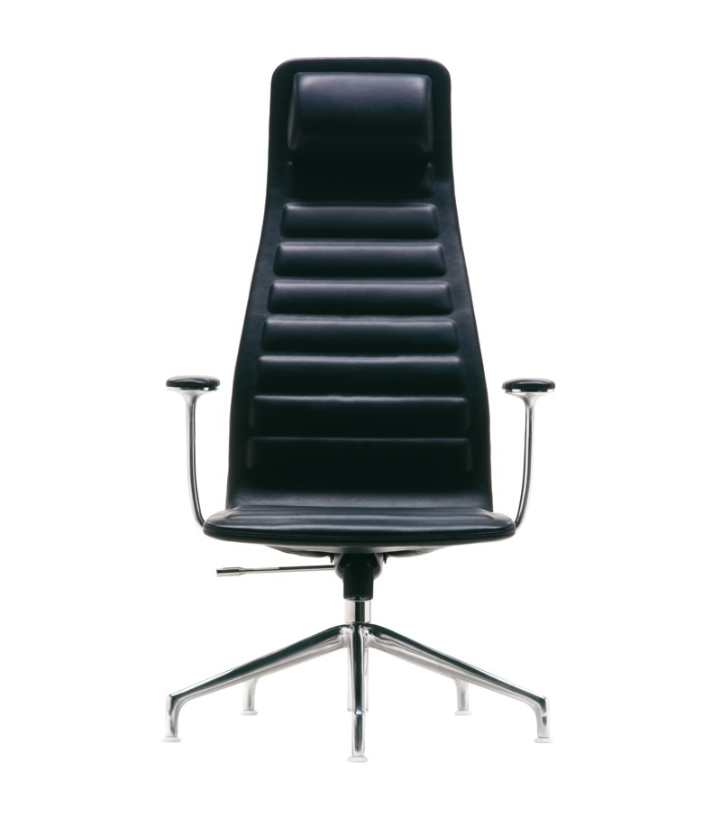 Lotus (High) Chair 5-Spoke With Armrests Cappellini