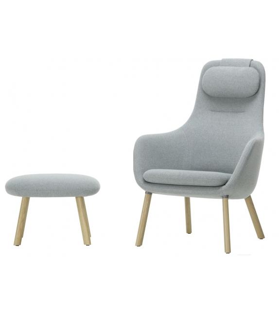 HAL Lounge Chair & Ottoman Vitra