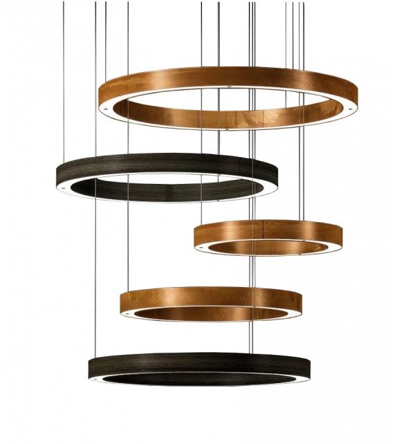Light Ring Multimateric Henge Pendant Lamp
