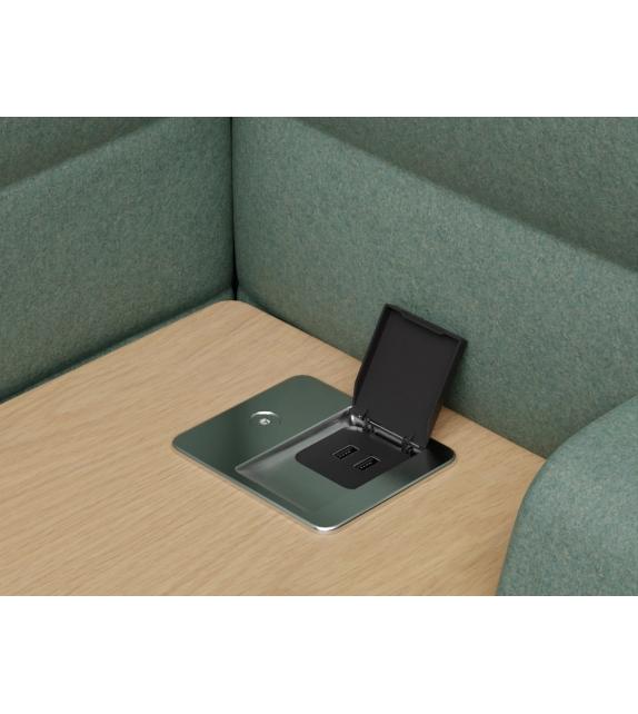 Alcove Plus Work Vitra Armchair