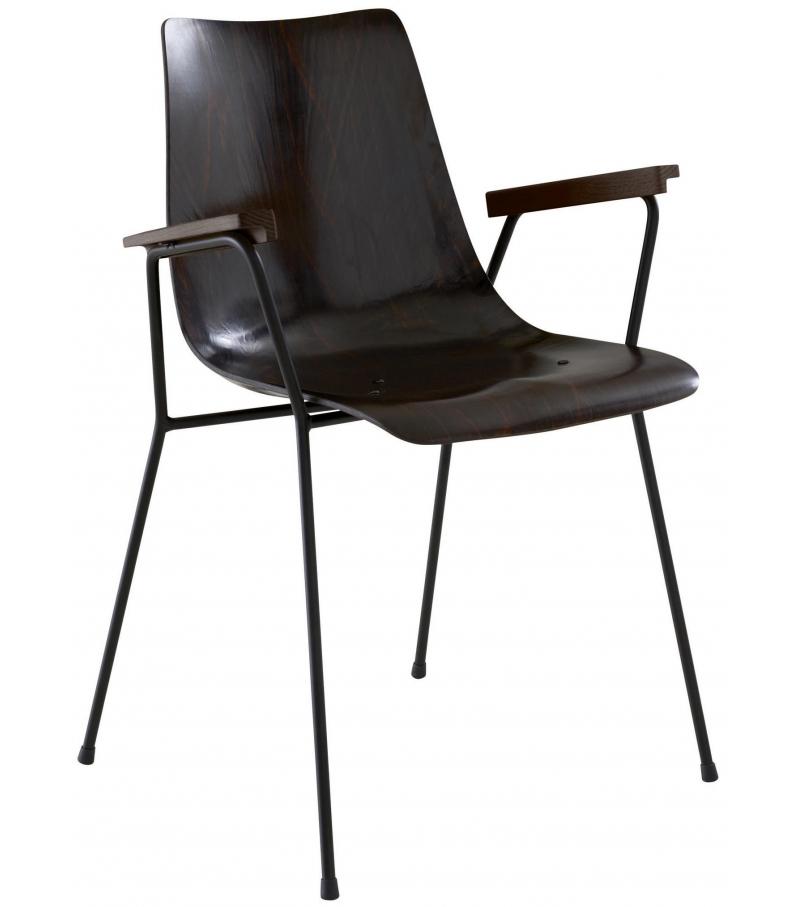 Cm 131 Ligne Roset Chair with Armrests